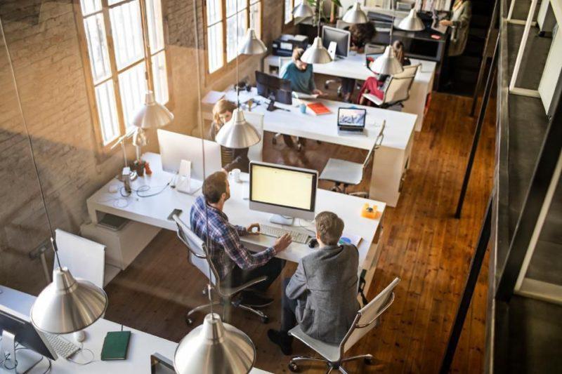 creative office setting